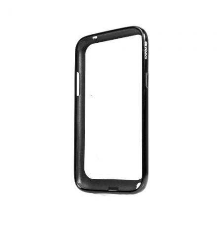 Capdase Alumor Bumper Duo Frame Samsung Galaxy Note 2 N7100 Black