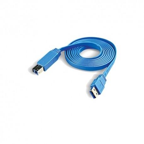 CliPtec Slim Flat USB 3.0 AM-BM 1.5m