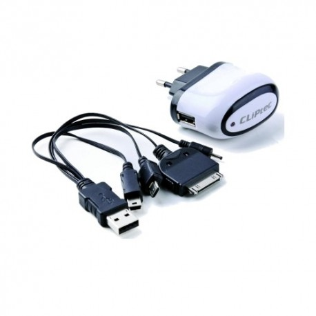 CliPtec Universal USB Smart Charger