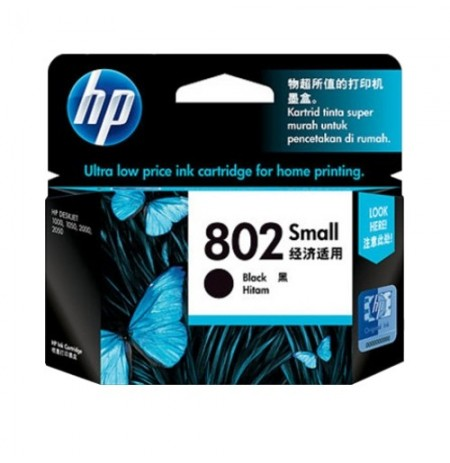 HP Ink 802 Black