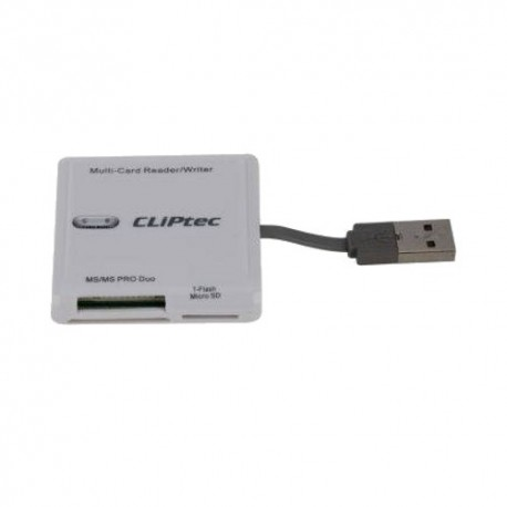 CliPtec All In 1 Card Reader 6 Slot