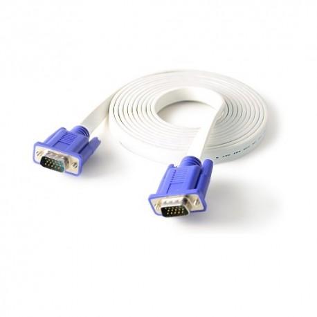 CLiPtec Slim Flat SVGA Monitor Cable 3.0 m OCC321