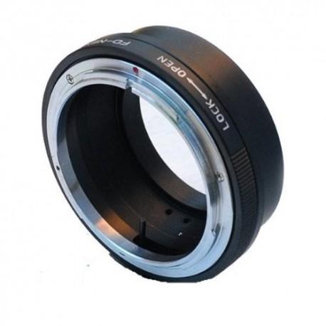 Gambar Canon FD Mount to Sony NEX E