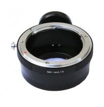 Nikon lens to Micro 4/3 M43