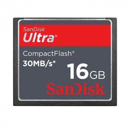 Sandisk Ultra Compact Flash 16GB 30Mb/s