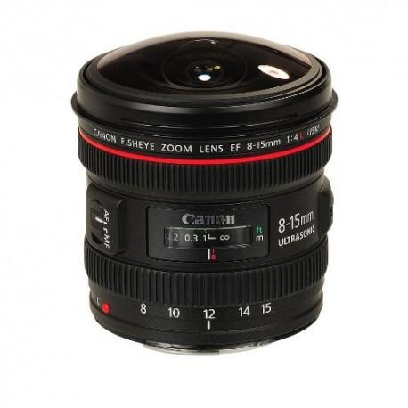 Gambar Canon EF 8-15mm f/4L Fisheye USM
