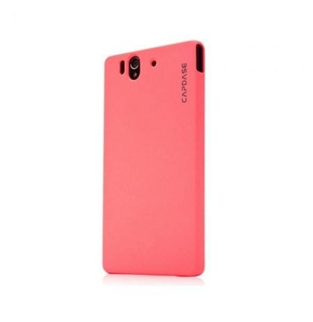 Capdase Karapace Jacket Touch Xperia Z Pink