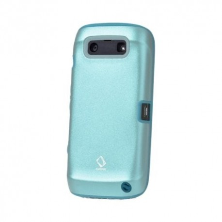 Gambar Capdase Alumor Metal Blackberry 9860 Blue