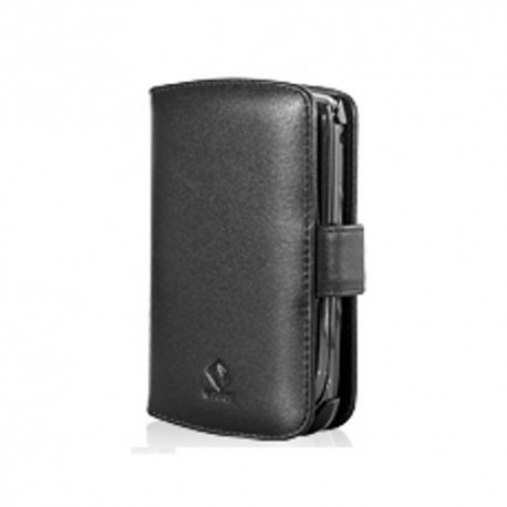Capdase Leather Case BiFold Blackberry 9800