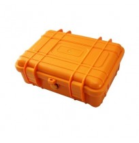 ATT High Quality Hard Plastic Waterproof Orange Case