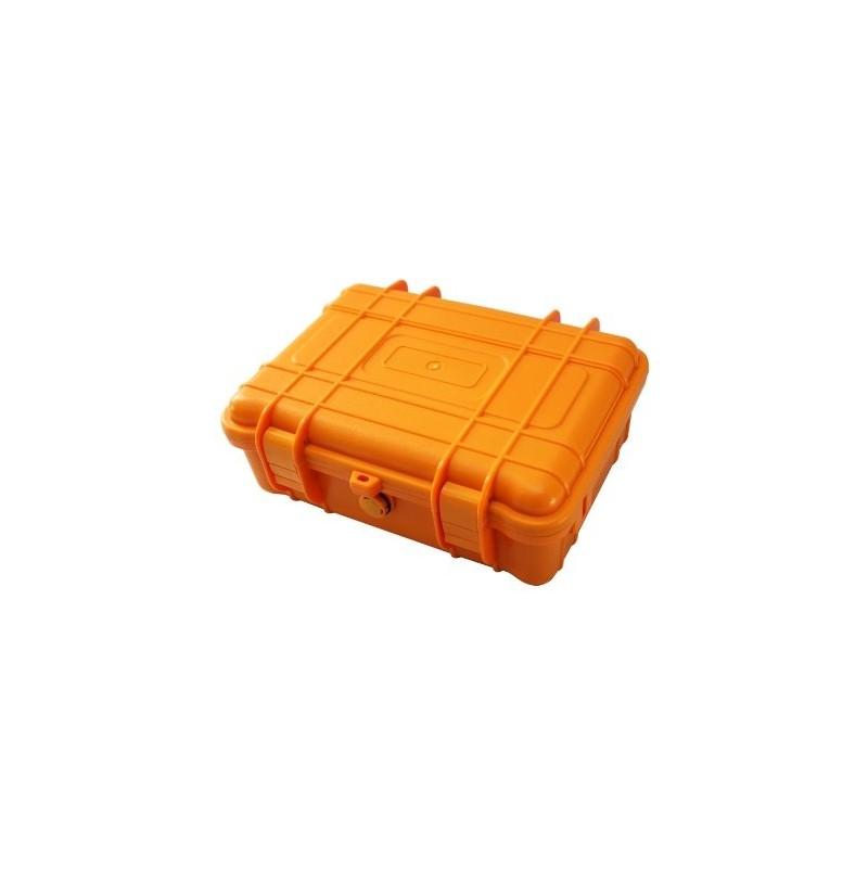 jual att high quality hard plastic waterproof orange case