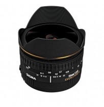 Sigma Fisheye 15mm f/2.8 EX DG For Canon