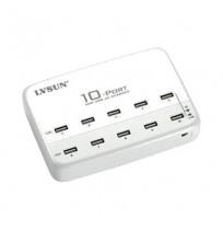 LVSUN 10 Port 2.4A Full Rate USB