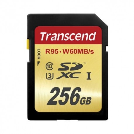 gambar Transcend SDXC UHS 1 U3 256GB