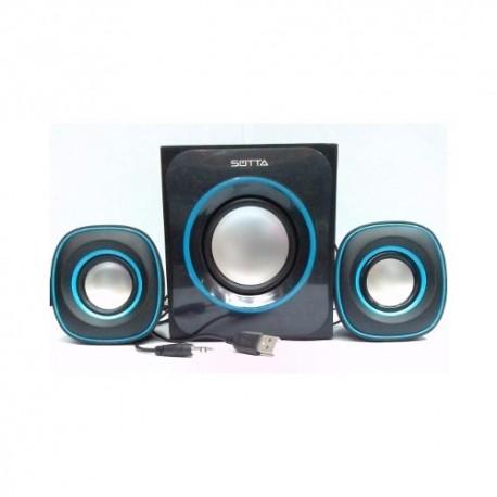 Speaker Subwoofer 2.1 Dynamic Sotta