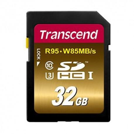 Transcend SDHC 32GB Class 10 UHS-I U3