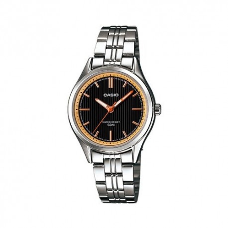 Casio Ladies Analog LTP E104D 1AVDF