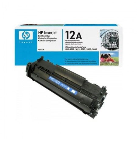 HP Black Toner 12A Q2612A