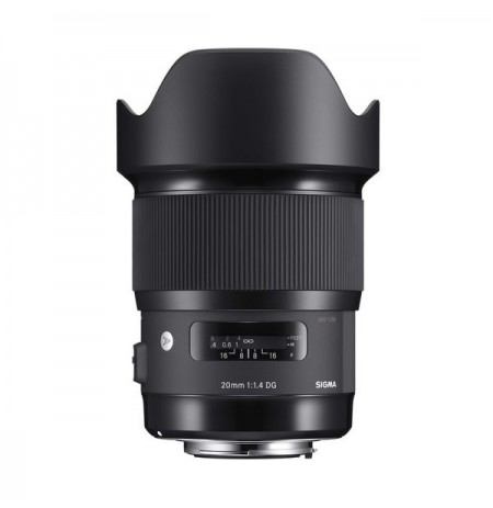 Gambar Sigma 20mm F1.4 DG HSM for Canon