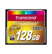 Transcend Compact Flash 128GB 1000x