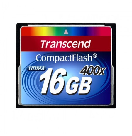 Transcend CompactFlash Card 16GB 400X