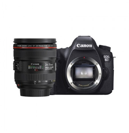 Canon EOS 6D Non Wifi Lens 24-70mm