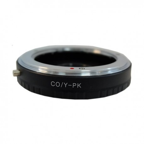 Gambar Optic Pro Adapter Contax/Y to Pentax PK