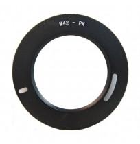 Optic Pro Adapter M42 to Pentax PK