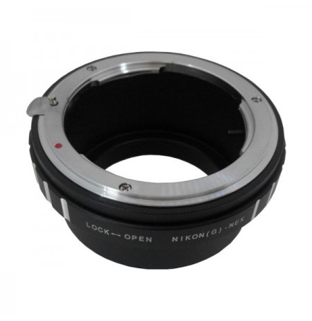 Gambar Optic Pro Adapter Nikon G to Sony Nex