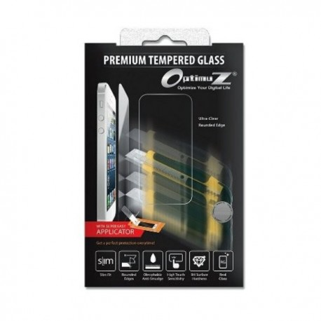 Optimuz Tempered Glass +APP For iPhone 4