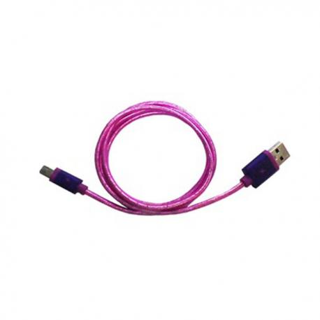 Lexcron Micro USB R Petir 1M Fast Charger - Ungu