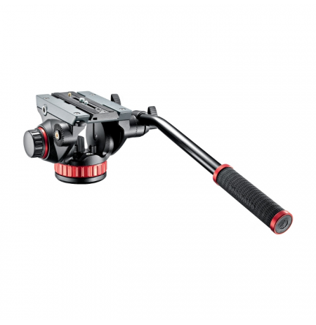 Gambar Manfrotto Pro Video Head Flat Base-MSize