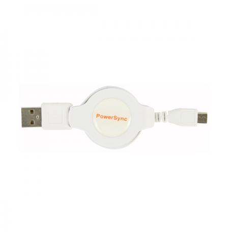 PowerSync Micro USB Retractable