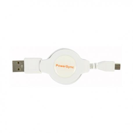 Gambar PowerSync Micro USB Retractable
