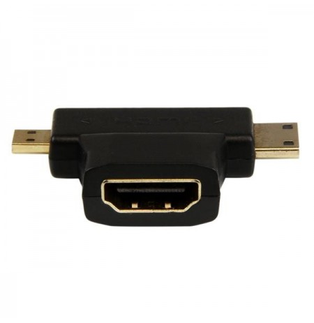 Lexcron HDMI/F to Micro HDMI/M or Mini HDMI/M