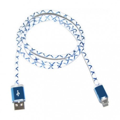 Lexcron Micro USB Cable Round 1M + LED XLD-004