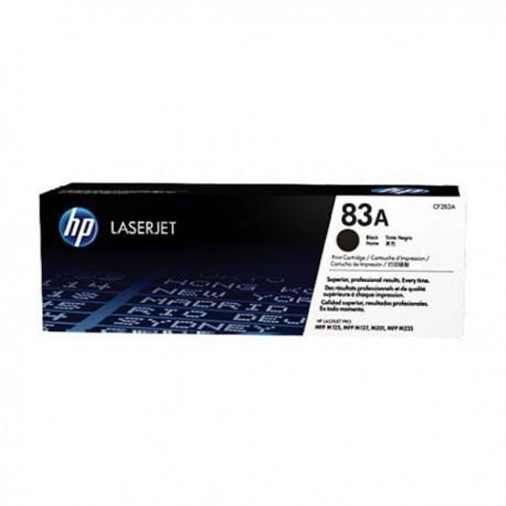 HP LaserJet Toner Cartridge 83A - Hitam [CF283A]