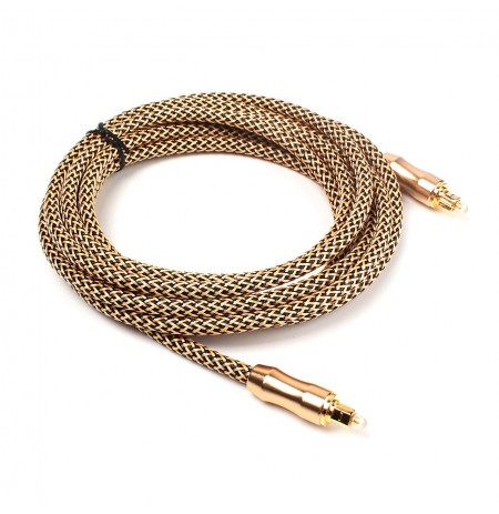 Lexcron Audio Optic Cable 1m Gold/Blue