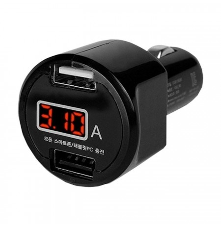 Car Charger USB 2 Port Mumuksu MCA-115D
