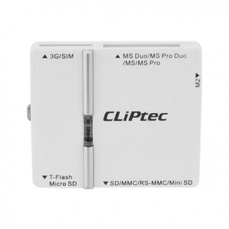 CliPtec USB All in 1 RDR + Sim RZR622