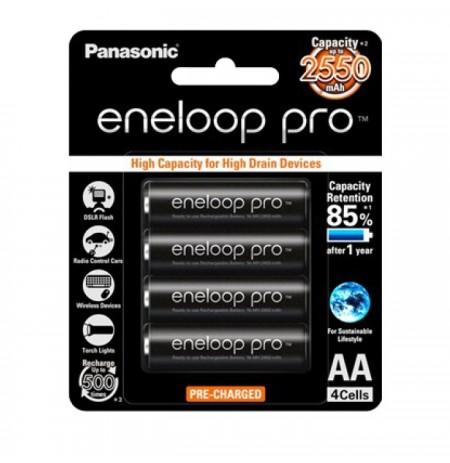 Gambar Panasonic Eneloop Pro AA 2550mAh 4pcs