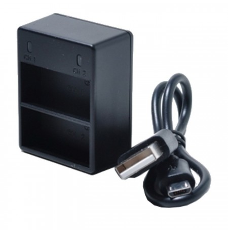 Optic Pro Dual USB Charger for GoPro Hero3/3+