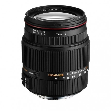 Gambar Sigma 18-200mm f/3.5-6.3 II DC HSM for Canon