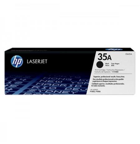 HP 35A Black Original LaserJet Toner Cartridge (CB435A)