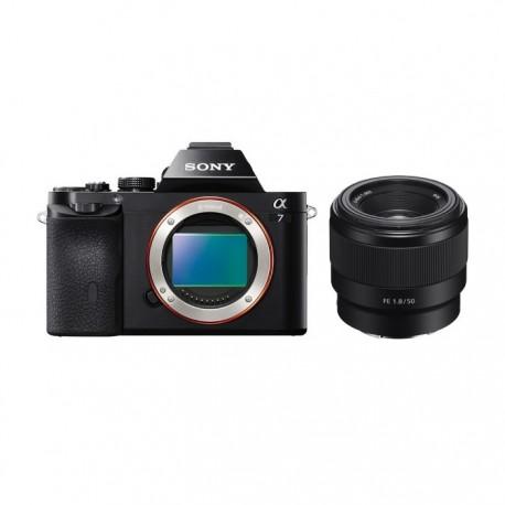 Gambar Sony Alpha a7 with FE 50mm F1.8