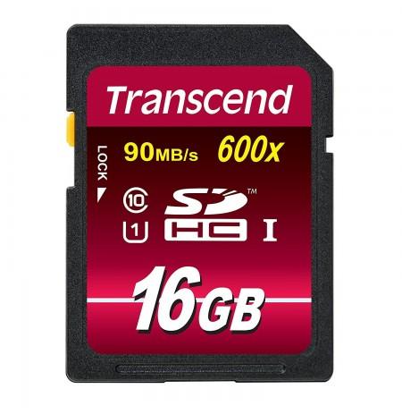 Transcend SDHC 16GB Class 10 UHS 600x