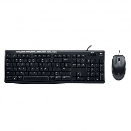 Logitech Keyboard + Mouse MK200