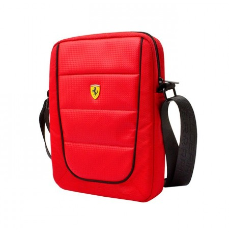 Ferrari Tablet Bag Piping 10 Red