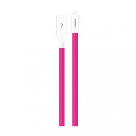 Gambar Sicron Tin Metal TPE Color Cable 5pin 1m