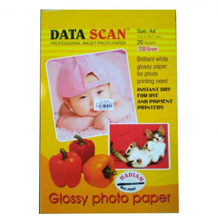 Data Scan Glossy Photo Paper A4 210gsm